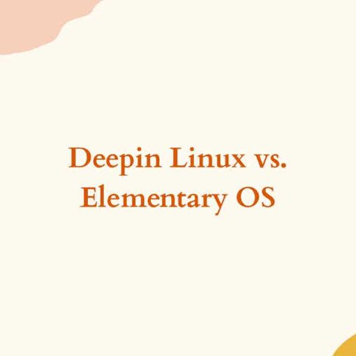deepin linux vs elementary os