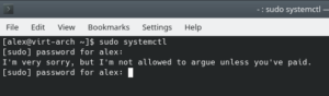 arch password insults active