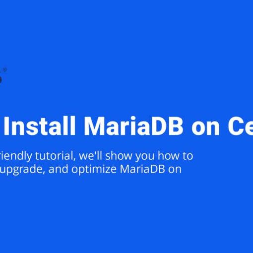How to Install MariaDB on CentOS 8